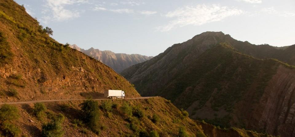 Auf dem Weg in den Pamir